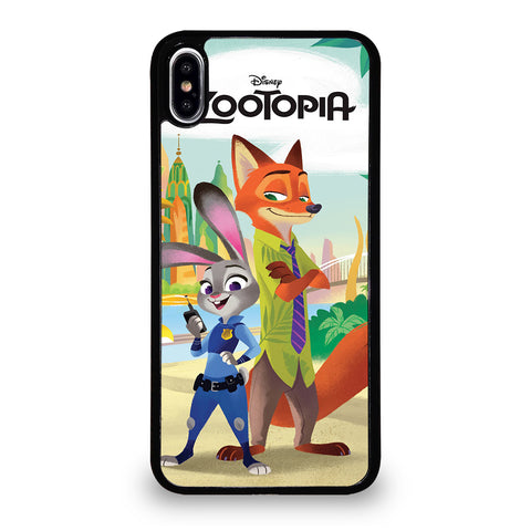 ZOOTOPIA JUDY AND NICK Disney-iphone-xs-max-case-cover