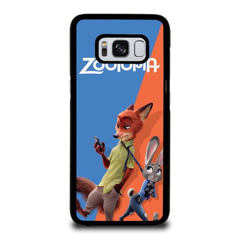 ZOOTOPIA-NICK-AND-JUDY-Disney-samsung-galaxy-S8-case-cover