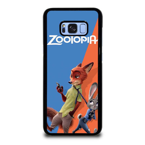 ZOOTOPIA-NICK-AND-JUDY-Disney-samsung-galaxy-S8-plus-case-cover