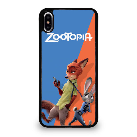 ZOOTOPIA NICK AND JUDY Disney-iphone-xs-max-case-cover