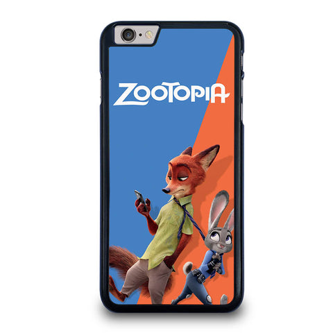 ZOOTOPIA-NICK-AND-JUDY-Disney-iphone-6-6s-plus-case-cover