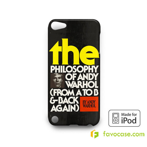 ANDY WARHOL  iPod Touch 4 5 6 Case
