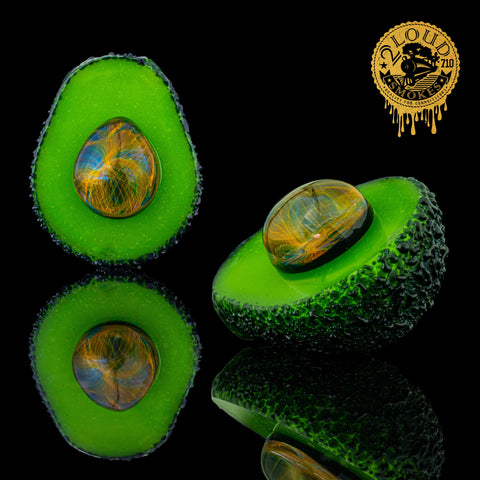 J Smart Glass - Avocado Fume Trap Pendant