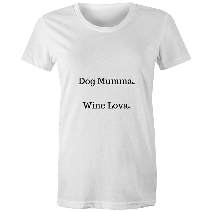 Dog Mumma T-Shirt-dog mum shirt-Aus Pet Accessories