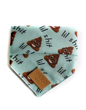 Load image into Gallery viewer, Pablo & Co - Dog Bandana - Lil Shit-Dog Bandana-Aus Pet Accessories