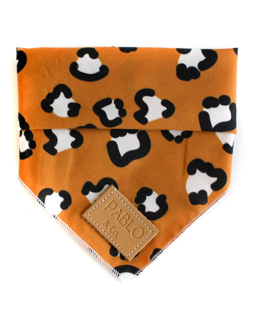 Pablo & Co - Dog Bandana - That Leopard Print-Dog Bandana-Aus Pet Accessories