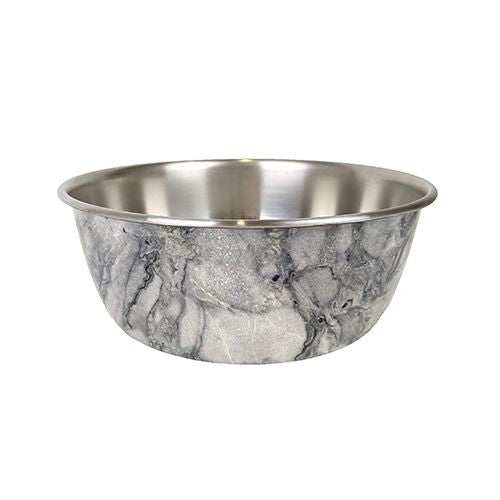 Barkley & Bella Stainless Steel Dog Bowl - Marble-dog bowl-Aus Pet Accessories