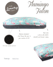Load image into Gallery viewer, Barkley & Bella Flamingo Pet Bed - Futon-dog bed-Aus Pet Accessories