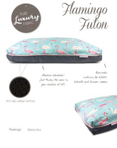 Barkley & Bella Flamingo Pet Bed - Futon-dog bed-Aus Pet Accessories