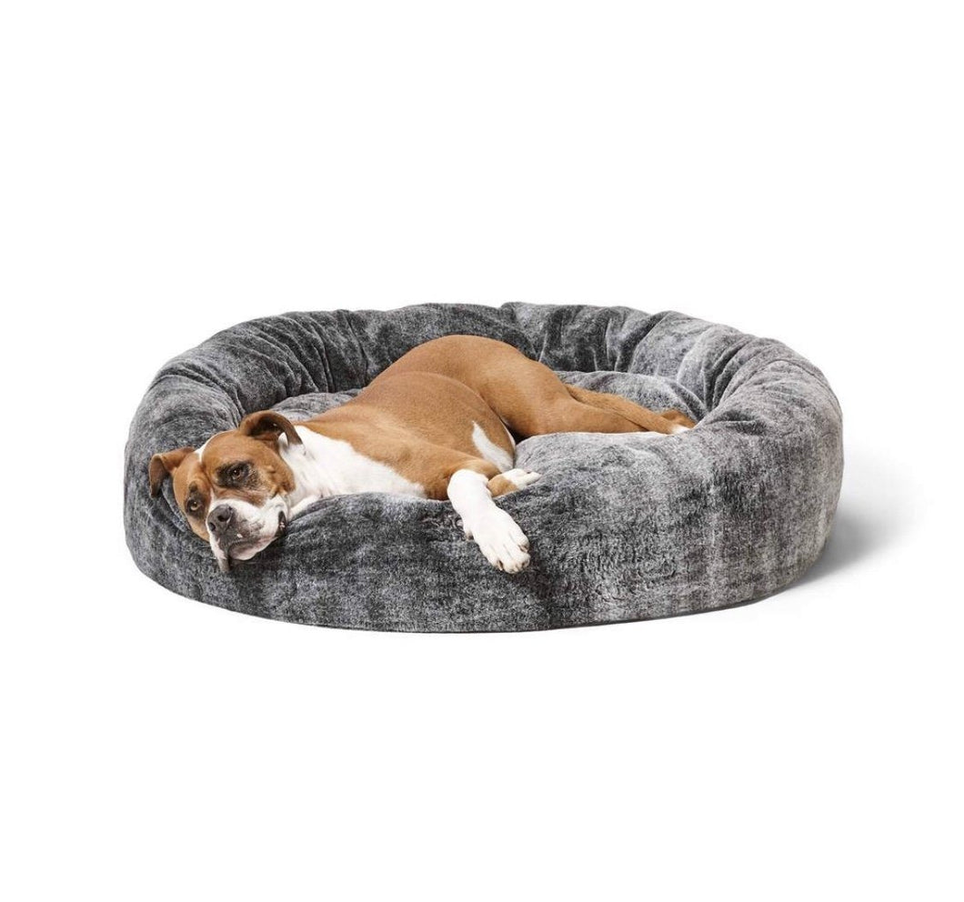 Snooza Cuddler Chinchilla - Calming Dog Bed-dog bed-Aus Pet Accessories