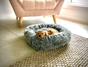 Calming Pet Bed 50cm-dog bed-Aus Pet Accessories