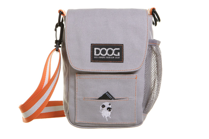 DOOG - Dog Walkie Bag - Grey-dog walkie bag-Aus Pet Accessories