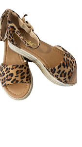 LEOPARD WEDGE