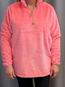 MEREDITH PINK PULLOVER
