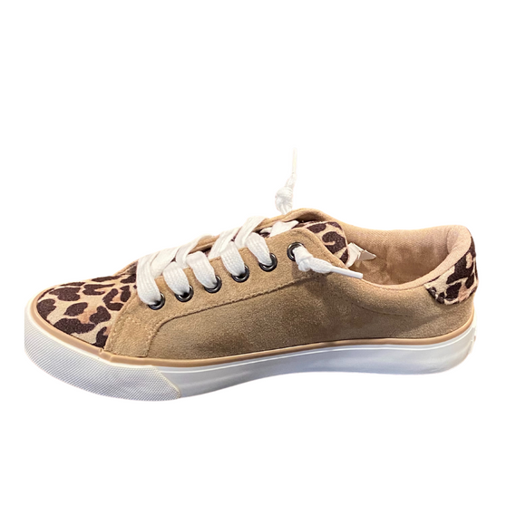 VERY G SOLISTICE LEOPARD SHOE