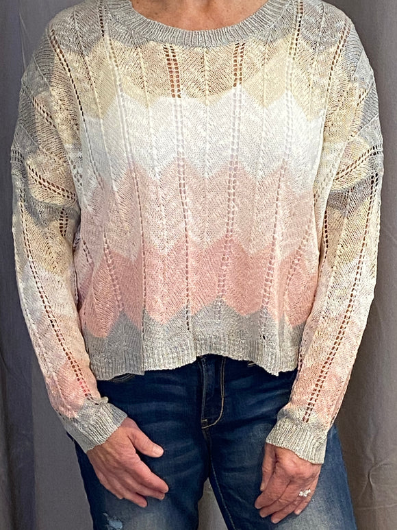 PINK SKIES SWEATER
