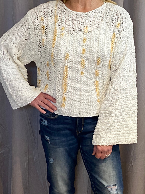 DANDELION YELLOW SWEATER