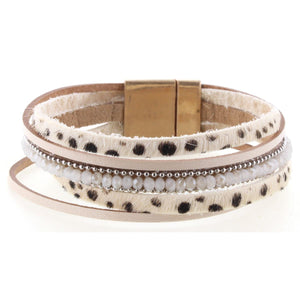CHEETAH MAGNETIC BRACELET