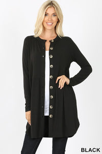 BUTTONED CARDIGAN