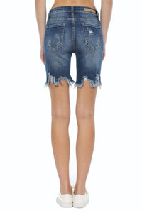 CELLO BRAND HIGH RISE UNEVEN FRAY BERMUDAS