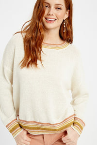 SOFT TOUCH LIGHWEIGHT PULLOVER SWEATER