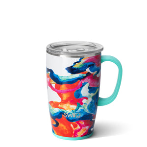 18 oz. STAINLESS STEEL MUG WITH HANDLE