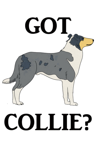 Got Collie?  T-shirts with Smooth Blue