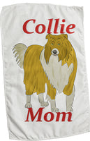 Collie Mom Rally Towels (Rough Sable)