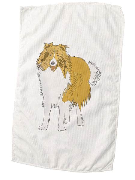 Microfiber Collie Towels