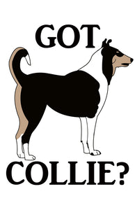 Got Collie?  T-shirts with Tri Smoothie