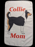 Collie Mom Rally Towels: Tri-Color Smoothie