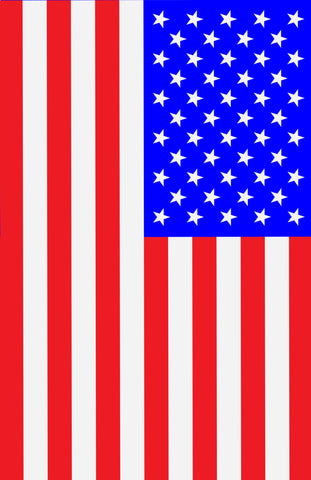 US Flag 13x19 inch image area