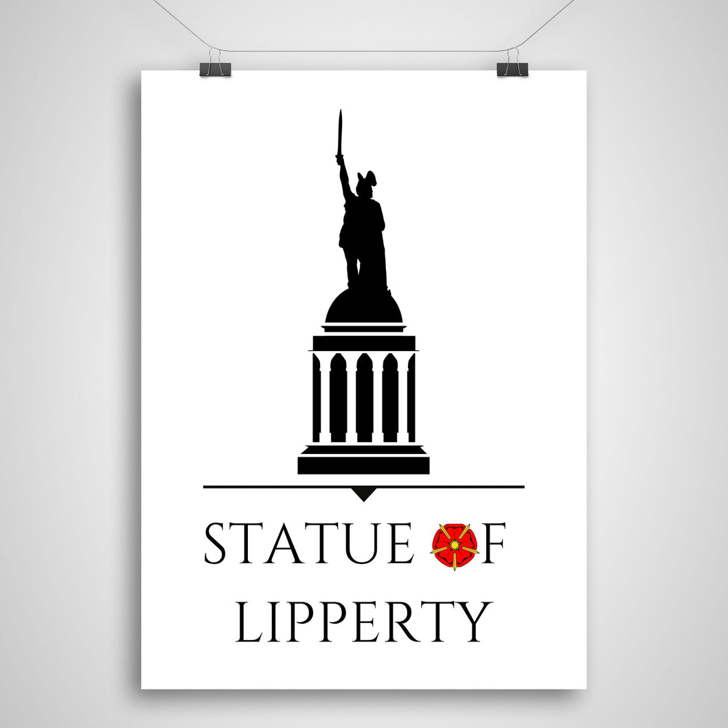 Statue of Lipperty Poster