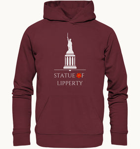Statue of Lipperty - Organic Hoodie