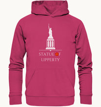Laden Sie das Bild in den Galerie-Viewer, Statue of Lipperty - Organic Hoodie