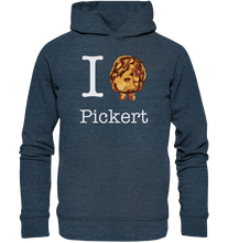 Laden Sie das Bild in den Galerie-Viewer, I love Pickert - Organic Fashion Hoodie