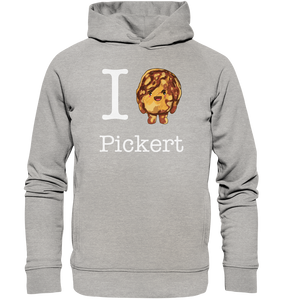 I love Pickert - Organic Fashion Hoodie