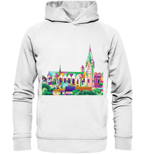 Laden Sie das Bild in den Galerie-Viewer, Buntes Paderborn - Organic Fashion Hoodie