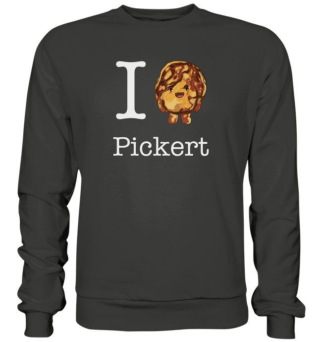 I love Pickert - Premium Sweatshirt