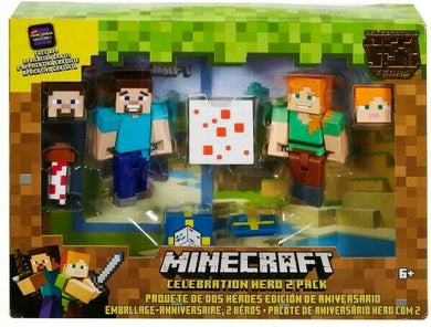 Minecraft Celebration Hero 2 Pack  6+