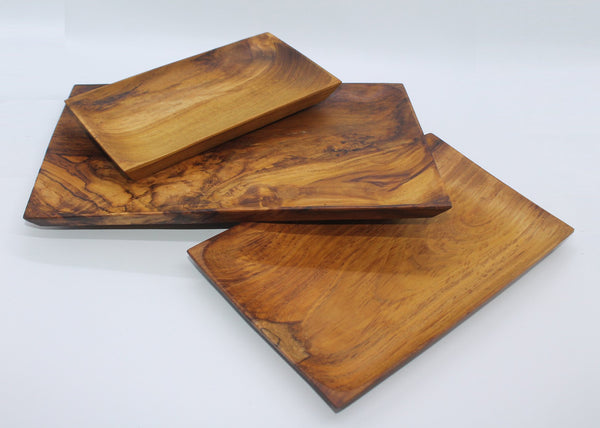 Serving Plate set of 3 (Teak)