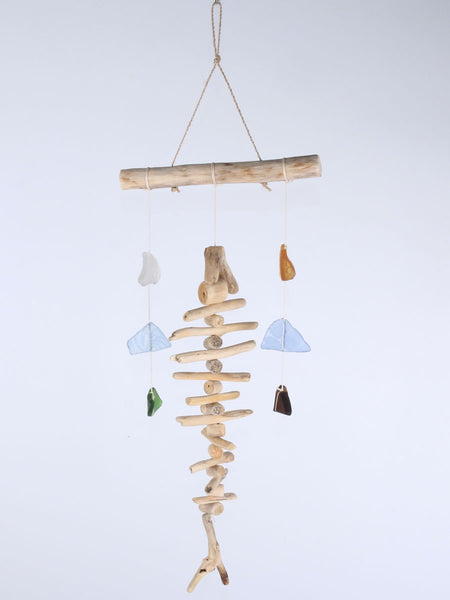 Hanging fish bone