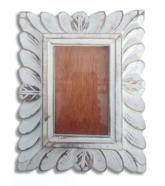 Whitewash Photo Frame
