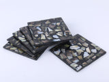 Square coaster set of 6
