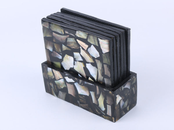 Square coaster with box set of 6