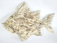 Driftwood wall decoration Fish