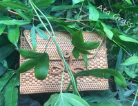 Bag Made From Ata Grass