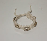 Cotton Bracelet with shells