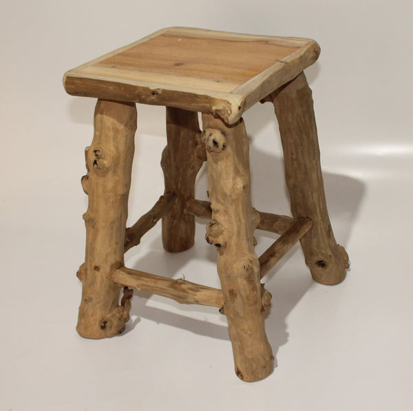 Stool from Coffee Wood
