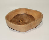 Bowl in teak-wood